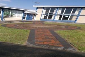 School-paving-job-after
