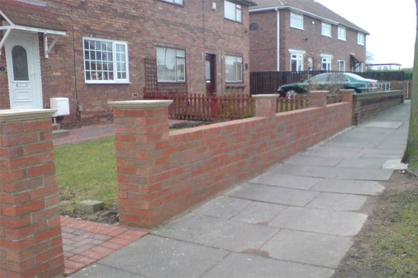 Decorative Garden Wall Bricks Garden Wall – Brick Work